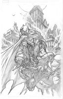 Arkham Batman by BChing