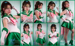 Super Sailor Jupiter Collage by AmmieChan