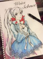 RWBY Weiss Schnee by FabledCreationZ