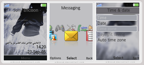 Sony Ericsson Theme , 1 by al3nOuD