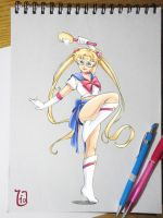 Sailor Moon by Lia-Arts