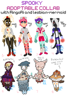 AA: Collab Spooky Adopts! 4/8 OPEN by RingoRi