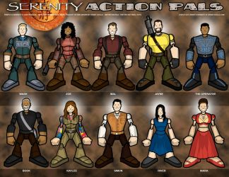 Serenity Action Pals by grantgoboom