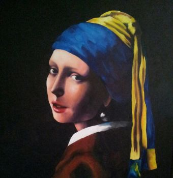 Girl with the pearl earring by jessie145