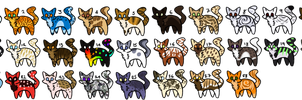 10 point adopts (OPEN) by WintersCatch