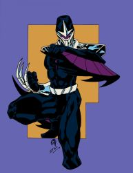 Darkhawk Color by Crausse
