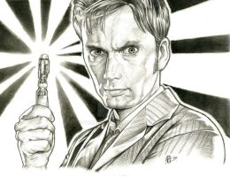 The Doctor - David Tennant by prmedia