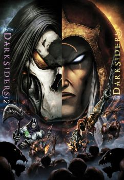 Darksiders Poster 2011 by Tonywash