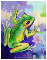 Frog by TooMuchColor