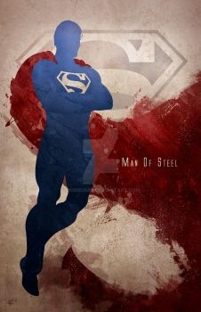 Man Of Steel by mobieus69