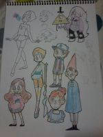 My favourite cartoon characters by pinksloth2608