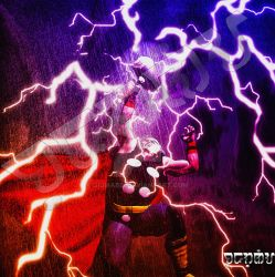 Mighty Thor by giumabei