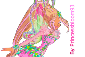 The Winx Club Flora 7 season by PrincessBloom93