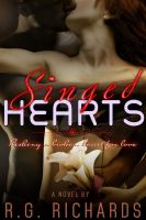 Romance Ebook Cover: Singed Hearts by Dafeenah