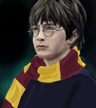 Harry Potter by fullcolour-canvas