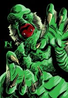 Creature From the Black Lagoon by IanJMiller