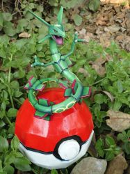 The legendary dragon: Rayquaza by BRSpidey