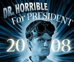 Dr. Horrible for President by Texas-Guard-Chic