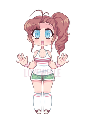 Sporty cute adopt (CLOSED) by Lovewhile