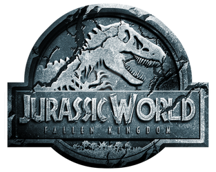 Jurassic World Fallen Kingdom logo by OniPunisher