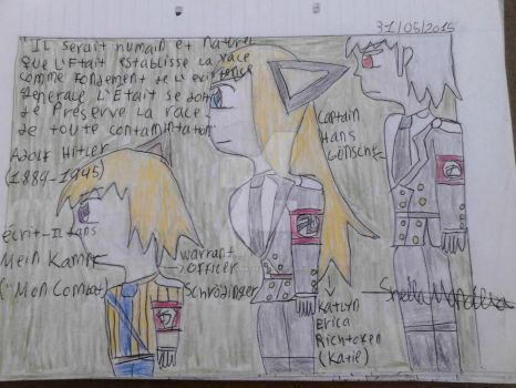 The Captain,Katie and Schrodinger - Mein Kampf by Sheila-Sama-15