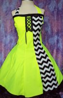 Ready to Rave Neon Dress by Alien-Phant