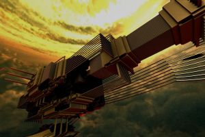 MEGASTRUCTURE by DorianoArt