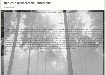 F2U|Forest Non-core journal skin by SilverMelody13