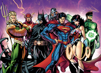 Justice League! (3 Years Later) by J-Skipper