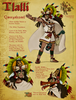 Quetzalcoatl Character Sheet by Chrissyissypoo19