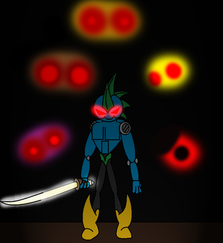 Alpha Demon- Confronting the Five Nights by Thesimpleartist4