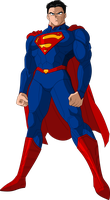 Super Man New52 DBZ style by MAD-54