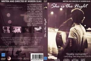 She Is The Night - DVD COVER by nisreenelias