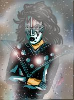 Space Ace Frehley by ChocolateHoneybee