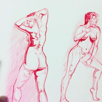 More Figure Sketches by Jsmigle