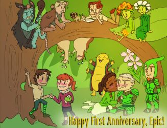 Epic - Happy First Anniversary by candlehat