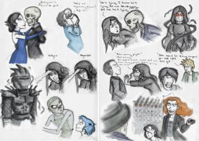 SP Book 6: Death Bringer Sketches by Expression