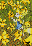 I love daffodils by Michelay