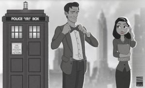 Paper DOCTOR WHO 2 by EadgeArt