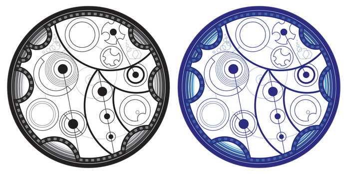 TARDIS Console Gallifreyan: Proud To Be A Whovian by PurpleAmharicCoffee