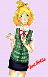 my dear human isabelle by capochi