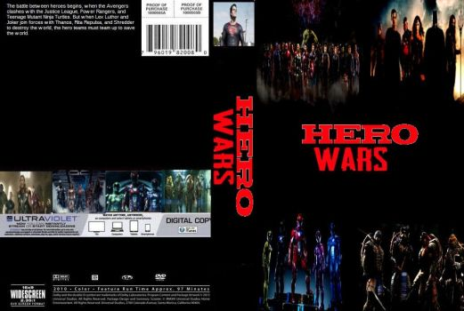 Hero Wars DVD cover by SteveIrwinFan96