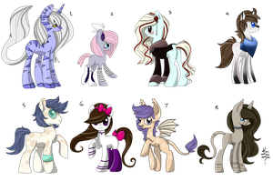 SALE Mlp Adopts (Closed) by ProjectBlastArt