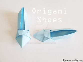 Origami Shoes by Artcrown