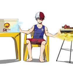 It's a job for Todoroki Shoto
