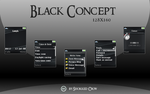 Black Concept 128x160 by Shokked-crow