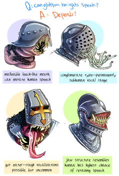 Knight Types by flatw00ds