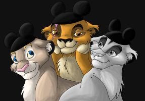 The Disney Cubs by Timitu