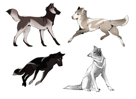 Canine Adopts -CLOSED- by Zodiac-Stables
