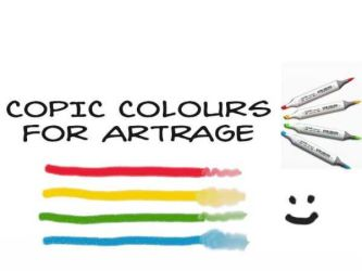 Copic Colors for Artrage by bolsterstone